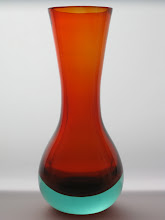 Photo: Seguso? Sommerso vase.