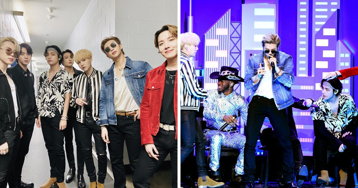 bts shares thoughts on their historic grammy performance with lil nas x historic grammy performance with lil nas x