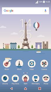 France ND Xperia Theme - náhled