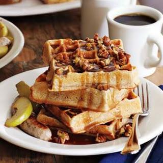 Praline Waffles