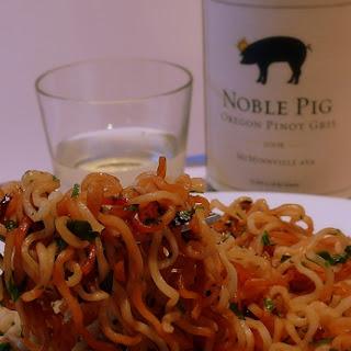 Cilantro Noodles