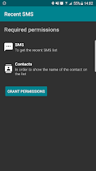 Recent SMS [Only for Edge Screen] APK 4
