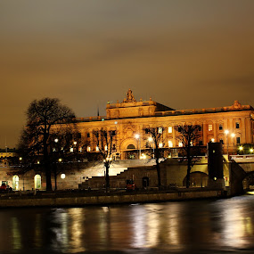 Stockholm Parliment House by Awais Javed - Buildings & Architecture Public & Historical