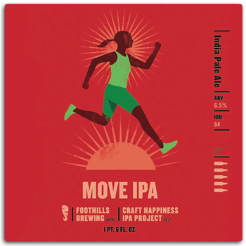 Logo of Foothills Happiness IPA Project - Move IPA