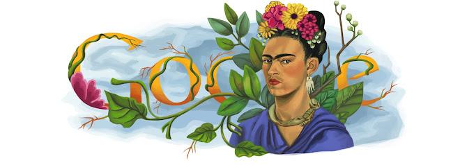 103e anniversaire de la naissance de Frida Kahlo
