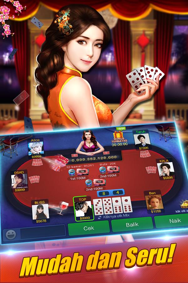 agen judi casino online terpercaya: Domino Qiuqiu on line