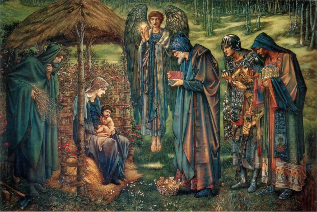 Star of Bethlehem (Edward Burne Jones, c. 1885-1890)