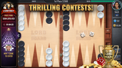 Backgammon Online - Lord of the Board - Table Game android2mod screenshots 2