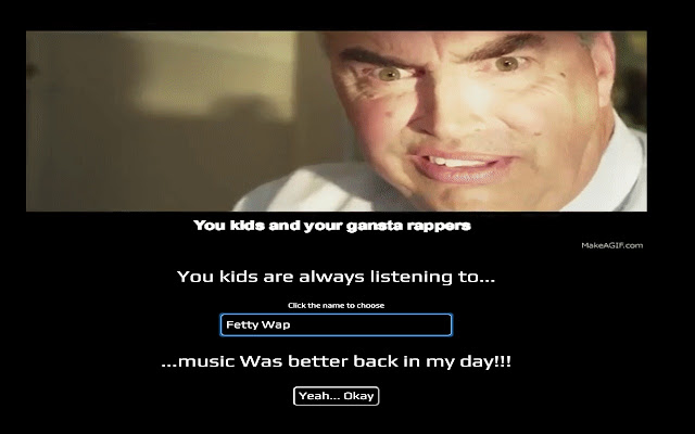 You Kids and Your Rap Music