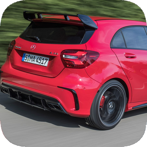 A45 AMG Drift Racing Simulator