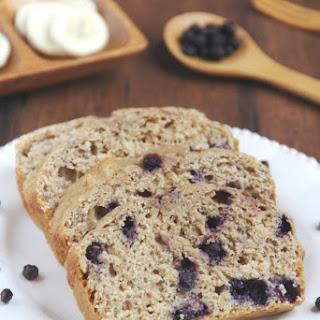 Whole Wheat Blueberry Banana Bread.