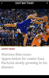 East Bay Times- screenshot thumbnail
