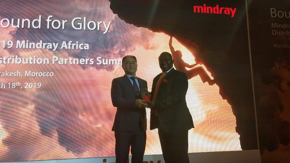 Kenyan medical firm wins award in Morocco