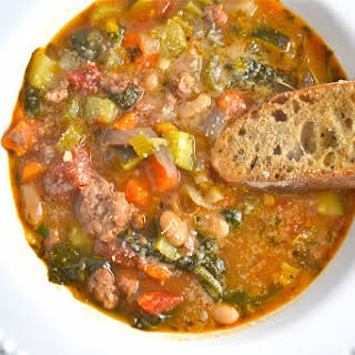 Italian Sausage Soup.