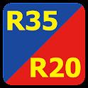 出会系アプリ無料R35~snsチャット~ icon