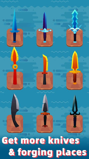 Merge Knife - Idle Blacksmith Master 1.5.3 screenshots 2