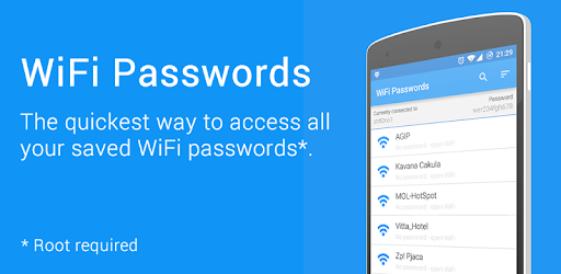 WiFi Passwords [ROOT] - Apps on Google Play