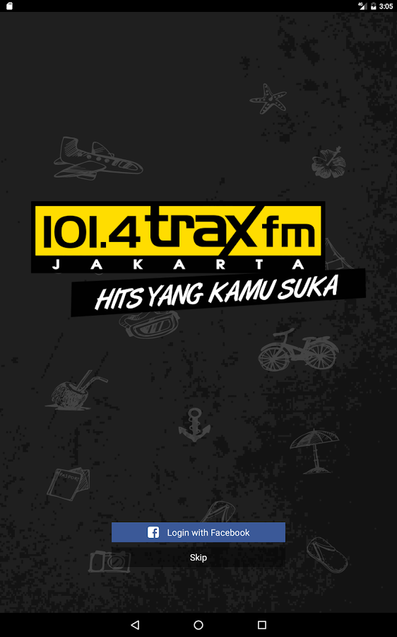 Trax FM- screenshot