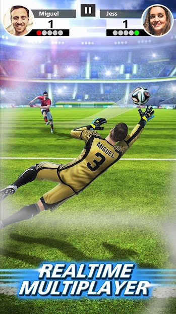 Football Strike - Multiplayer Soccer Android App Screenshot