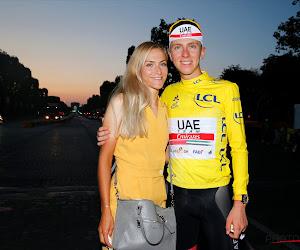 Rijden Pogačar en vriendin straks in zelfde ploeg? 'UAE op het punt om grote vrouwenploeg over te nemen'