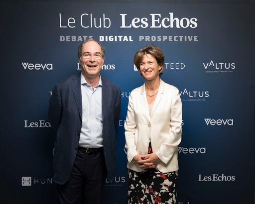 Club Les Echos Digital avec Isabelle Kocher et Yves Le Gélard