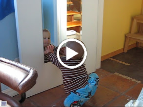 Video: who is that baby in the mirror?