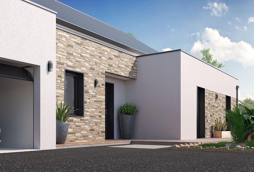 Vente Terrain + Maison - Terrain : 600m² - Maison : 117m² à Neuillé-Pont-Pierre (37360)