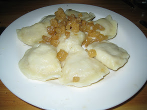 Photo: More pierogies at Ubabci Maliny!