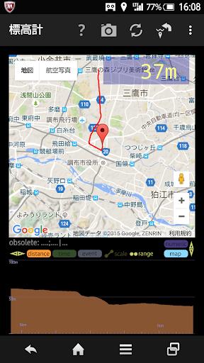 GPS MAP u9ad8u5ea6u8a08 u5730u56f3 u9ad8u4f4eu5909u5316u30b0u30e9u30d5u4ed8 hiMalt 1.6.10 Windows u7528 2