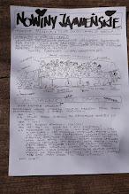 """Photo: Przedstawiamy świeżutkie wiosną pachnące """"Nowiny Jamneńskie""""- a w nich: Relacja z rekolekcji wielkopostnych i Niedzieli Palmowej, a także wywiad z o. Andrzejem Chlewickim! Na jego zaproszenie rekolekcje pt. """"Remont Kapitalny"""" poprowadził z miłością Fr Antoni Kazimierz Dudek OFM - DZIĘKUJEMY!"""
