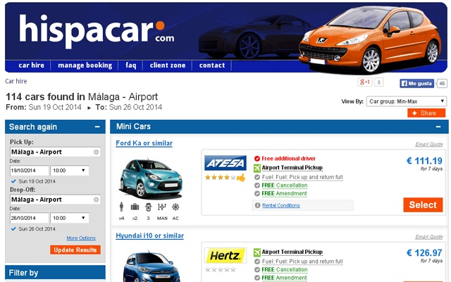 Car Rental Compare >> Compare Car Rental