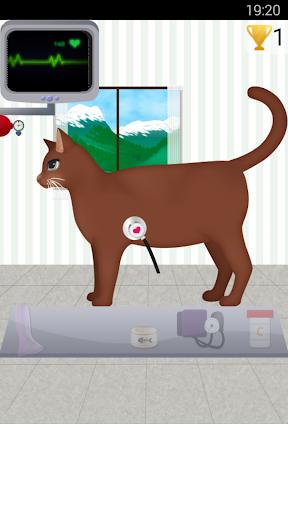 猫のケアゲーム