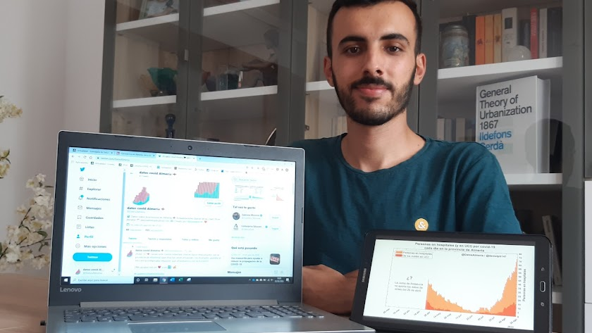 Daniel Plaza, de 21 años, estudia Ingeniería Civil en la Politécnica de Cataluña.