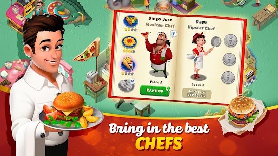 Tasty Town MOD APK 1.17.17 [Fast Cooking] 5