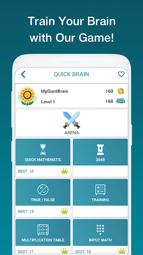 Math Exercises for the brain, Math Riddles, Puzzle android2mod screenshots 1