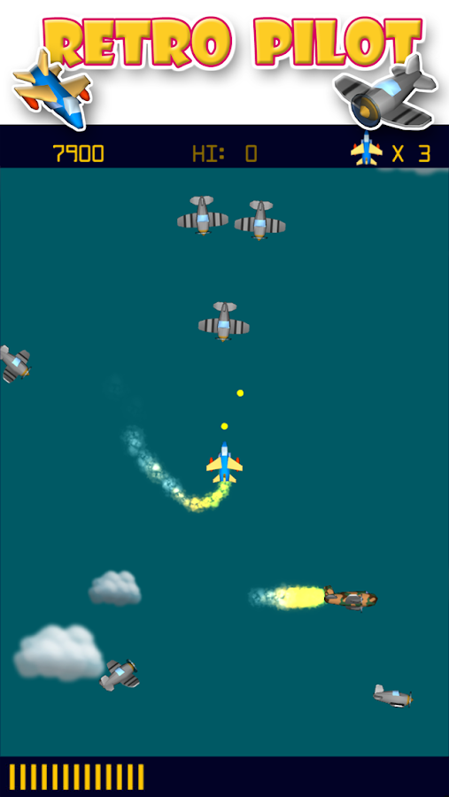 Retro Pilot- screenshot