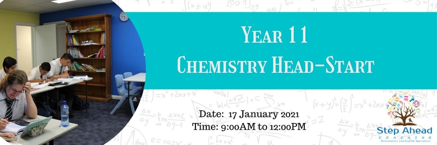 Year 11 Chemistry HeadStart