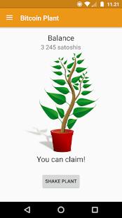 Bitcoin Plant screenshot
