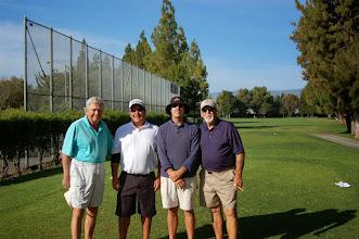 Photo: John Szarka with partner Dave Olivo and partners John Balsley and Tom Boydston