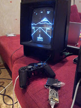 Photo: vectrex playstation adapter