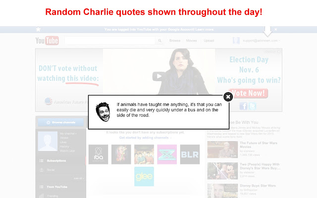 Charlie Quotes
