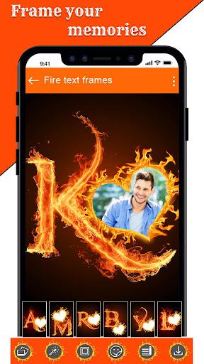 Fire Text Photo Frame u2013 New Fire Photo Editor 2020 1.33 screenshots 15