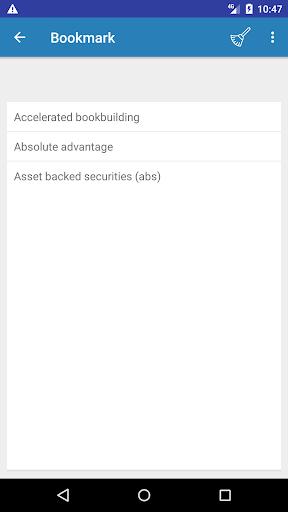 Screenshot 5 Economics Dictionary