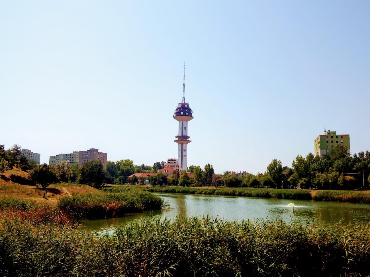 Szeged/Rókus, Telekom torony - helyi URH-FM+DVB-T adóállomás