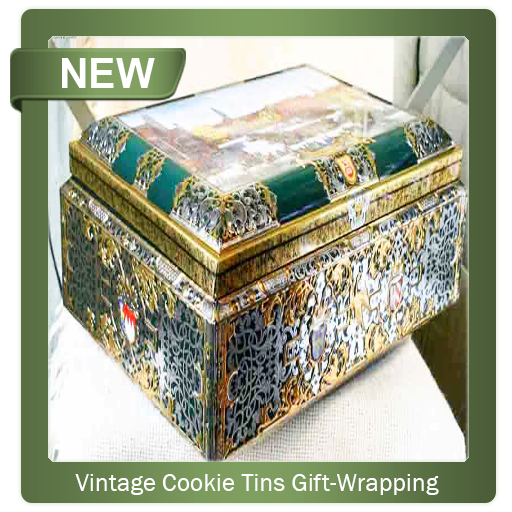 Vintage Cookie Tins Gift-Wrapping Method (app)