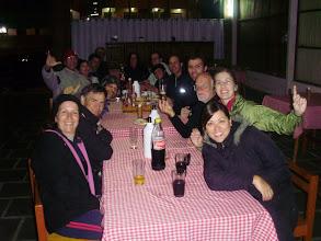 Photo: a hora da merecida pizza em Alto Caparaó com a galera de SP,MG e RJ que realizaram o Bike Luz em 4 dias