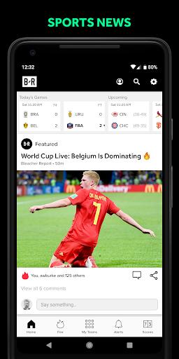 Bleacher Report: sports news, scores, & highlights 6.6.0 screenshots 1
