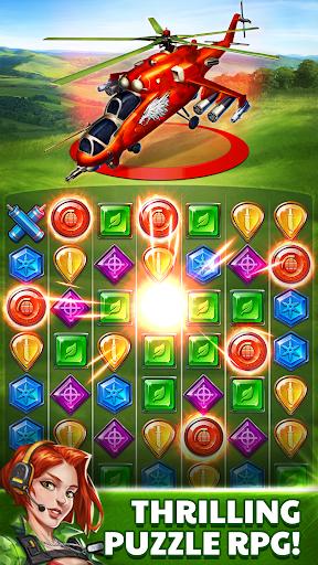 Puzzle Combat fond d'écran 1