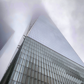 WTC Haze by Michael Lunn - Instagram & Mobile iPhone ( manhattan, nyc, big apple, new york )
