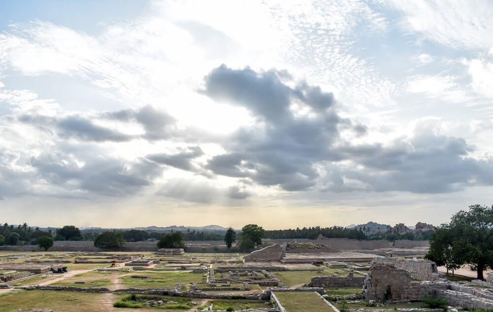 hampi+open+ruins+ram+temple+hampi+group+of+monuments